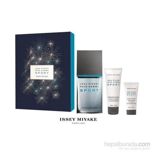 Issey Miyake Pour Homme Sport Edt 100 Ml - Erkek Parfüm Set