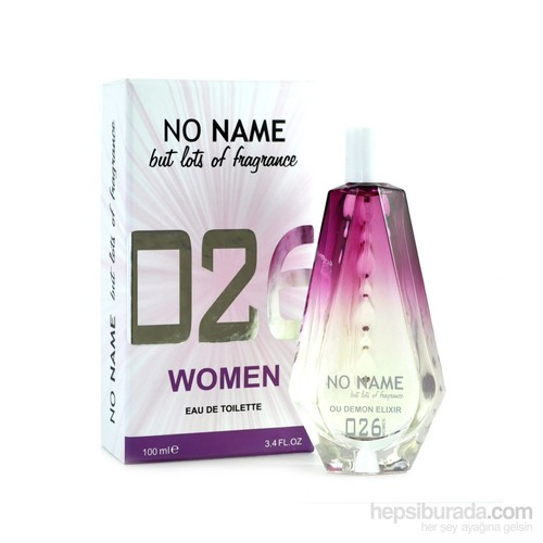 No Name 026 Ou Demon Elixir Edt 100 Ml Kadın Parfüm