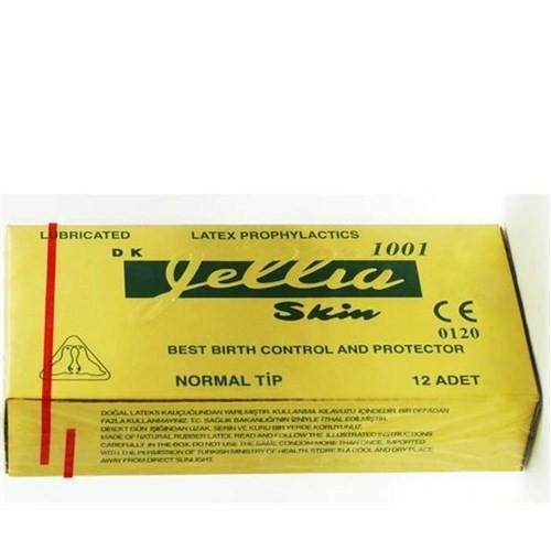 Jellia Skin Classic Prezervatif 12'li