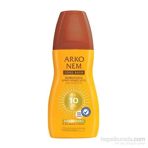 Arko Nem Güneş Bakım Sprey Süt Spf10 150 Ml