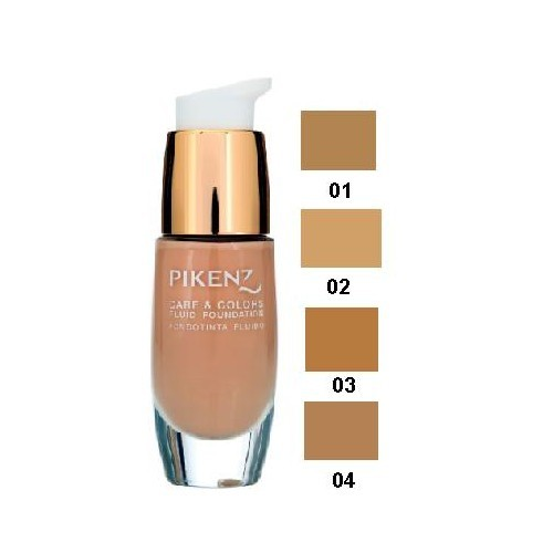 Pikenz Foundation Fluid Care & Colors 30 Ml-Kapatıcı Likid Fondöten