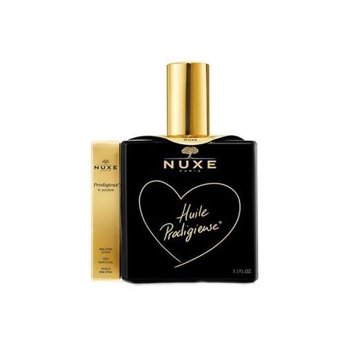 Nuxe Huile Prodigieuse Black 100Ml - Çok Amaçlı Kuru Yağ Sınırlı Üretim Siyah Şişe