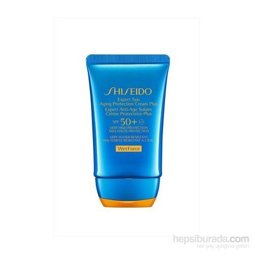 Shiseido Expert Sun Aging Protection Cream Plus Spf50+ 50 Ml Koruyucu Güneş Kremi