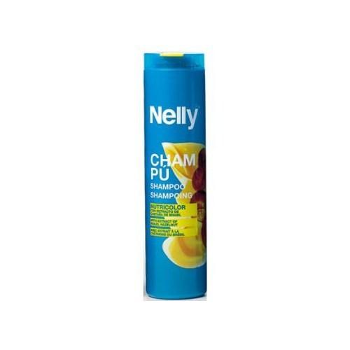 Nelly Nutricolor Shampoo 400Ml - Boyalı Saçlar Canlandırıcı Şampuan