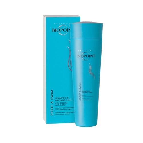 Biopoint Sport&Swim Shampoo And Conditioner 2 İn 1 Anti Chlorine - Spor Yüzme Şampuanı