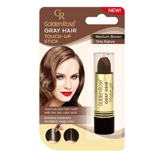 Golden Rose Gray Hair Medium Brown N:03