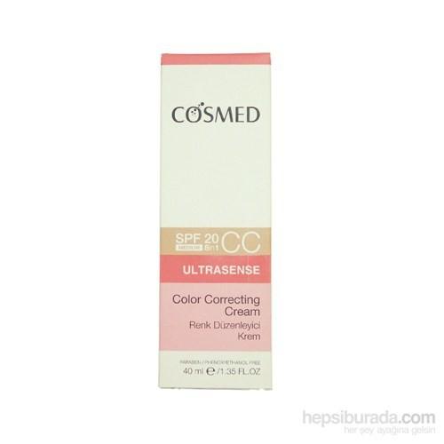 COSMED Ultrasense - Color Correcting CC Cream SPF20 - Medium 40 ml