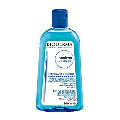Bioderma Atoderm Shower Gel 500 ml - Hassas ve Kuru Ciltler için Temizleyici Jeli