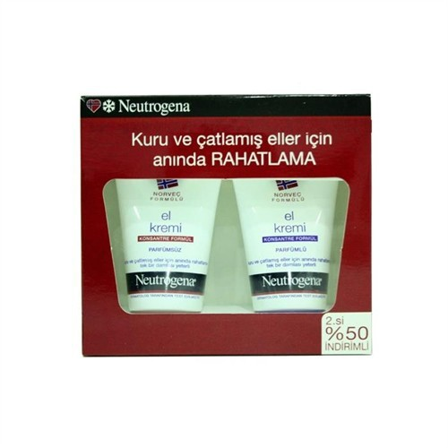Neutrogena El Kremi Kofre - Parfümlü 50ml - Parfümsüz 50ml