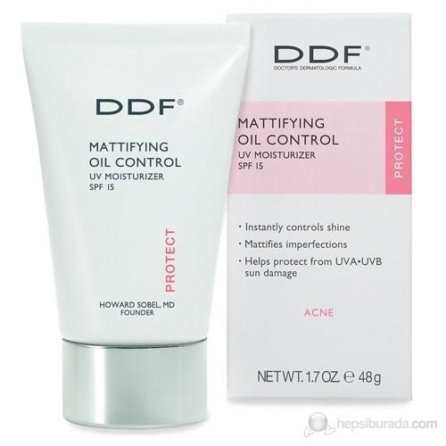 DDF Mattifying Oil Control UV Moisturiser SPF 15 48 Gr - Güzel Koruyuculu Matlaştırıcı Nemlendirici