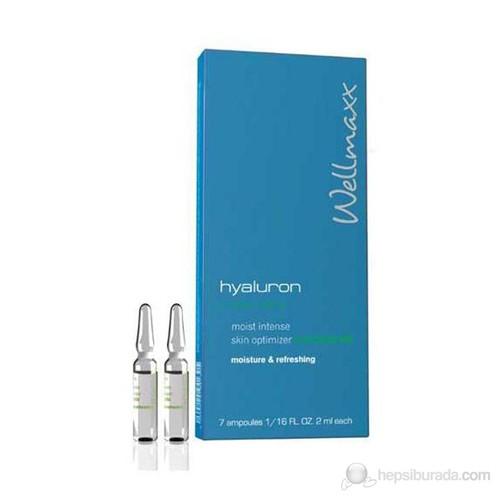 Wellmaxx Hyaluron Aloe Vera Moist Intense Skin Optimizer Concentrate 7X2 Ml - Yapılandırıcı Serum