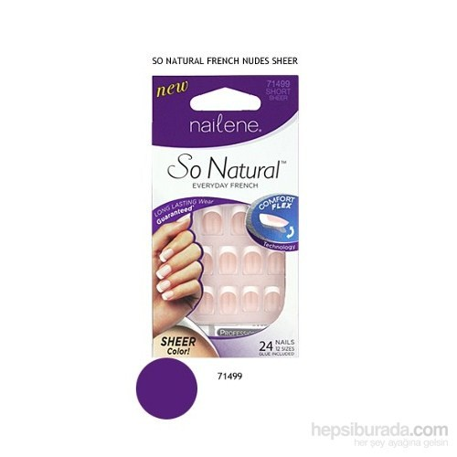 Nailene So Natural French Takma Tırnak - 71499
