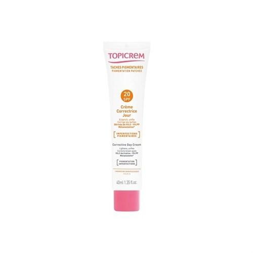 Topicrem Corrective Day Cream SPF20 40ml - Lekeli Ciltler İçin Gündüz Kremi