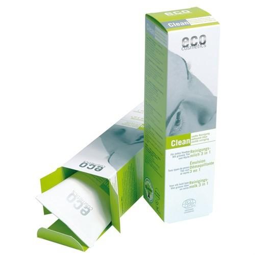 Eco Cosmetics Organik Sertifikalı 3'Ü 1 Arada Cilt Temizleme Sütü