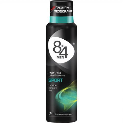 8X4 Deo Sprey Sport 150 Ml Erkek