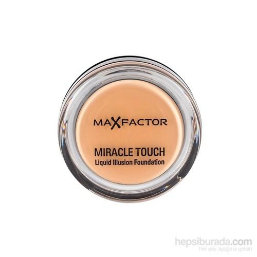 Max Factor Miracle Touch Kompakt Fondöten 075 Golden