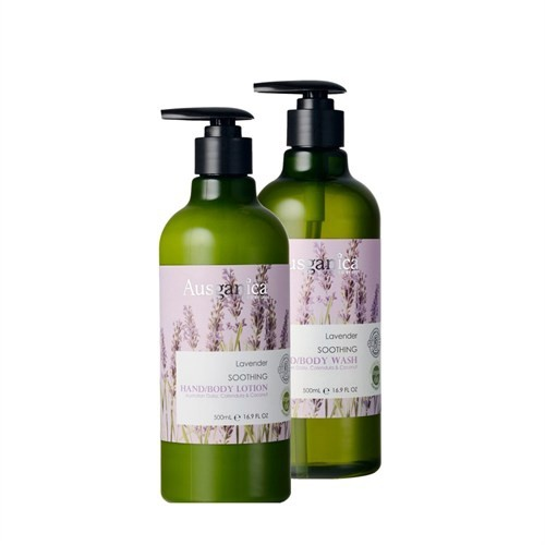 Ausganica Lavender Soothing Hand & Body Wash - Body Lotion