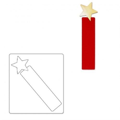 Sizzix Yıldız Kitap Ayıracı - 1A10962