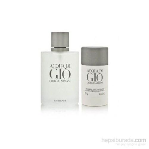 Giorgio Armani Acqua Di Gio Edt 100Ml Erkek Parfüm + Roll-On Seti
