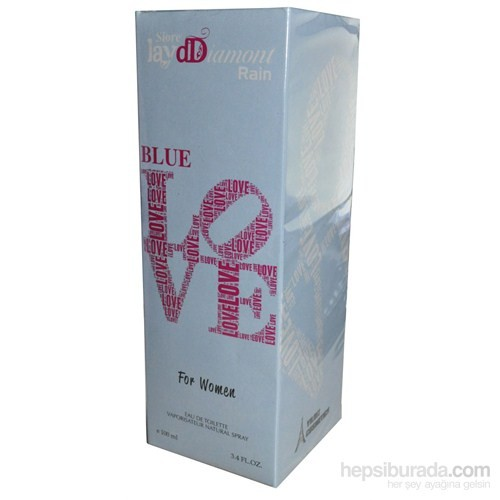 Siore Jay Ddiamont Rain Blue Love 100Ml Kadın Parfüm