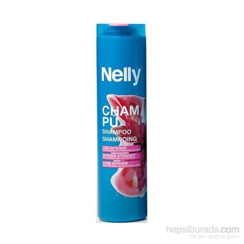 Nelly Intense Straight-Düzleştirici Etkili Şampuan 400 Ml