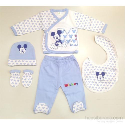 Disney Mickey Mouse 5'Li Hastane Çıkış Seti