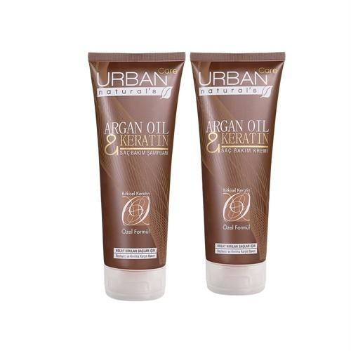 Urban Care Argan & Keratin Şampuan + Saç Krem