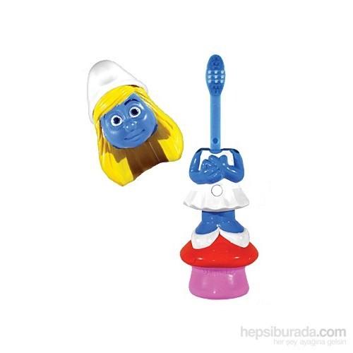 Brush Buddies Kafası Çıkan Oyuncak Şeklinde Diş Fırçası Lisanslı POPİN Şirine Karakterli