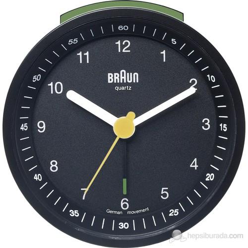 Braun Alarmlı Masa Saati Siyah -Bnc007bkbk