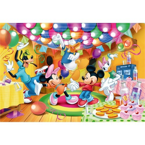 Clementoni Puzzle Mickey Toon Town (9x12x18 parça)