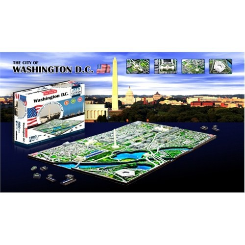 4D Cityscape Washington D.C. Puzzle
