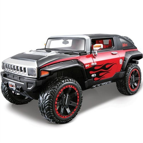 Maisto 2008 Hummer Hx Concept 1:24 Model Araba All Stars