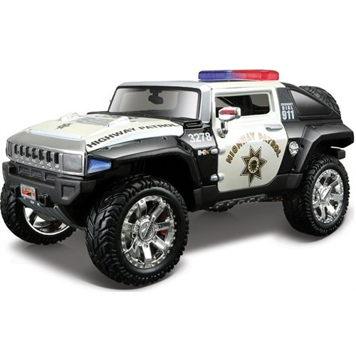 Maisto Hummer Hx Concept Diecast Model Araba 1:24 AllStars Siyah