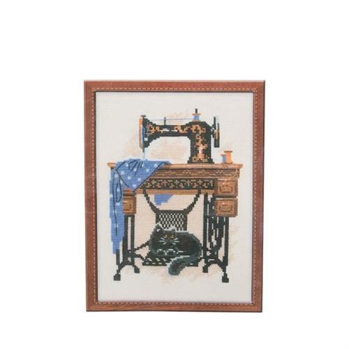 Riolis Etamin Kiti Kedi İle Dikiş Makinesi - 857