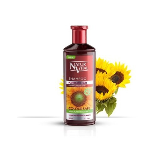 Natur Vital Henna Shampoo Mahogany Highlıghts 300 Ml Kızıl