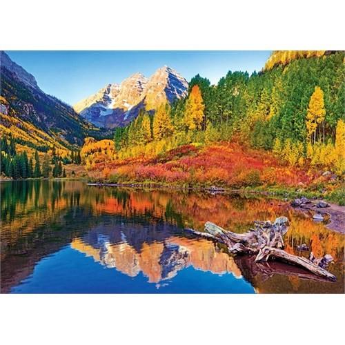 Trefl Maroon Lake 1000 Parça Puzzle (Aspen Colorado)