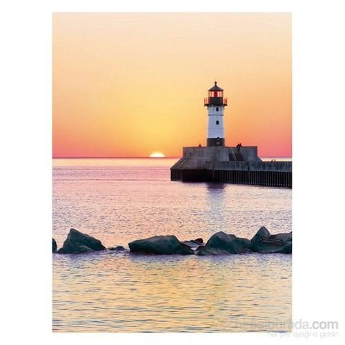 Clementoni 500 Parça Puzzle Gün Batımında Deniz Feneri