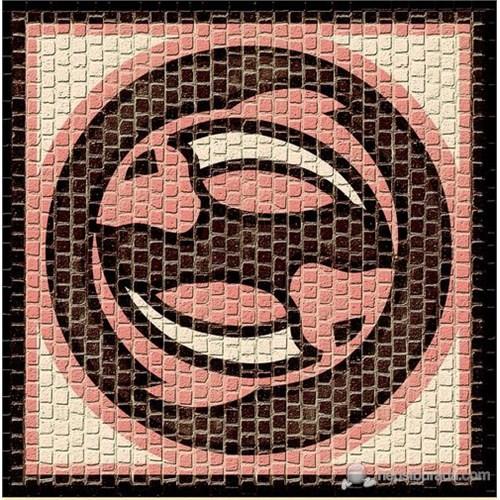 Mozaik Burçlar Serisi Balık