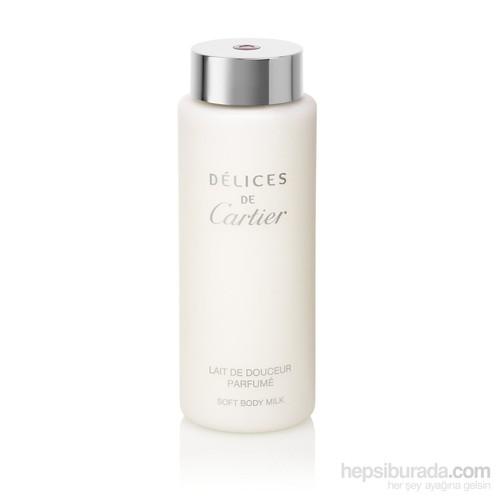 Cartier Delices De Cartier Parfumed Vücut Sütü 200 Ml