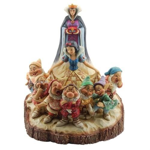 Disney Traditions Enesco Snow White & Seven Dwarf Diorama
