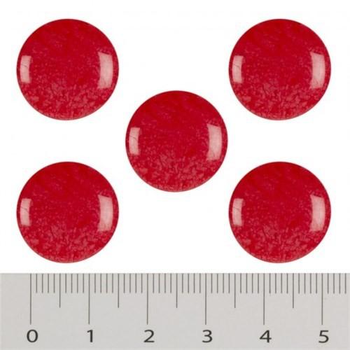 Hobium Küçük Boy Kırmızı Fantazi Düğme