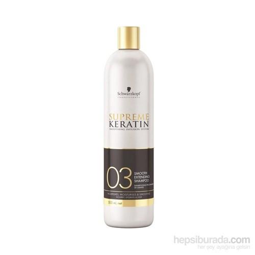 Schwarzkopf Supreme Keratin Koruma Şampuanı 500Ml 03