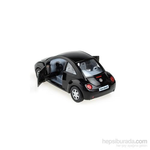 Volkswagen New Beetle Çek Bırak 1/32 Die Cast Model Araç
