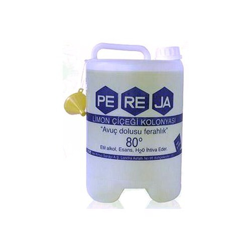 Pereja 5 Litre Limon Kolonyası