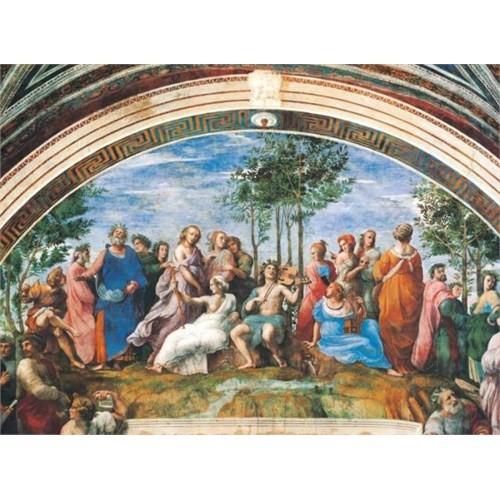 Clementoni Puzzle Parnassus, Raphael (1000 Parça)