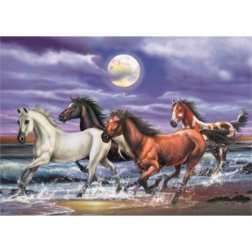 Horses at Moon Glare (1000 parça)