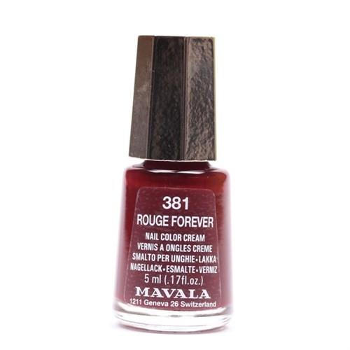 Mavala Nail Color Cream - Oje - Rouge Forever