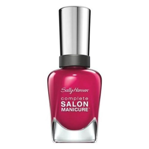 Sally Hansen Complete Salon Manicure - Berry Important - 5Li Etkili Oje - Böğürtlen Rengi - 543