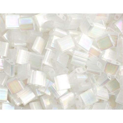 Miyuki Tila Bead 5X5 Mm 50 Gr. Şeffaf Beyaz Boncuk - 690Tl00-2549