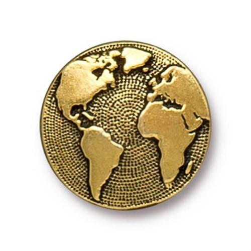Tierra Cast 1 Adet 17 Mm Altın Rengi Dünya Aksesuar Düğme - 94-6578-26